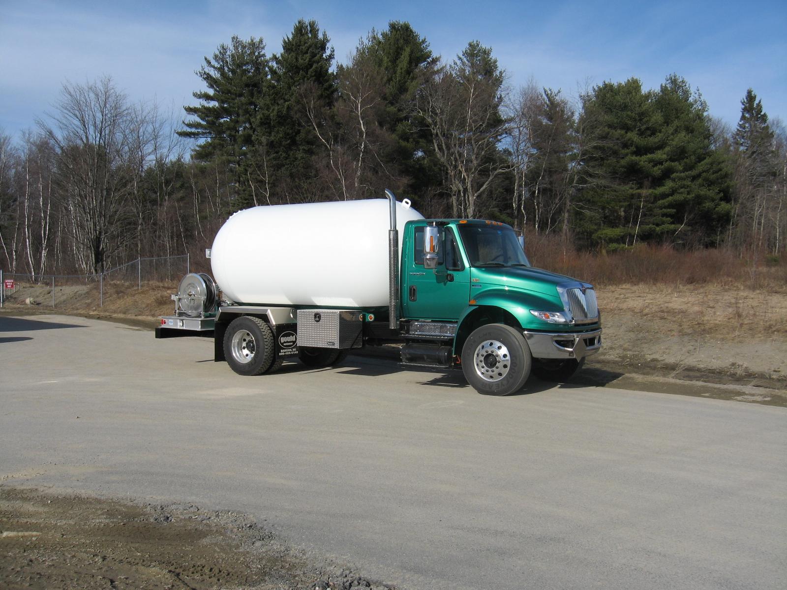 Propane truck, new